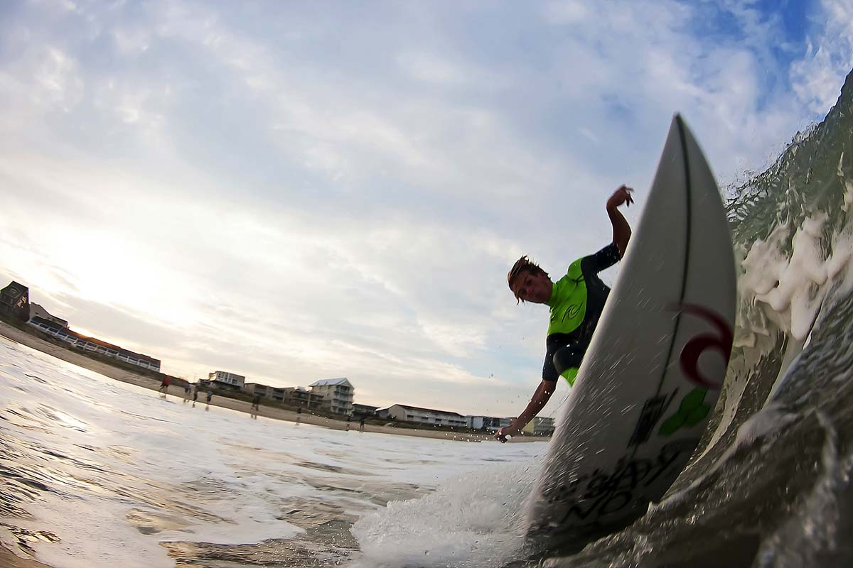 Pursuing a passion for surfing and photography