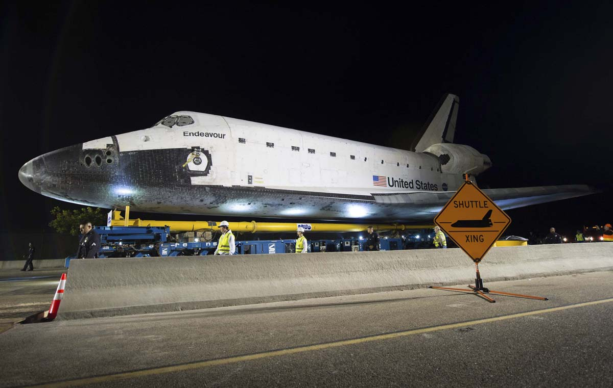 where is space shuttle endeavour - photo #38