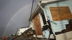 OCTOBER 30: Superstorm Sandy leaves destruction, darkness and death in its wake