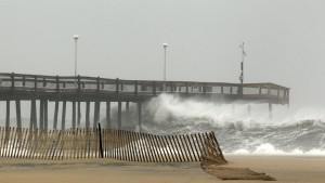 OCTOBER 23-28: Hurricane Sandy, dubbed Frankenstorm, starting to close in on U.S.