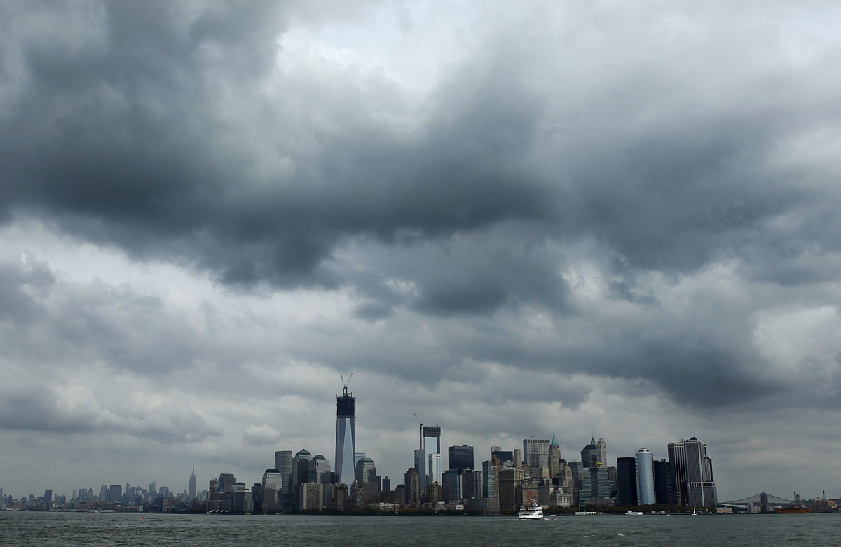 clouds over new york - photo #1