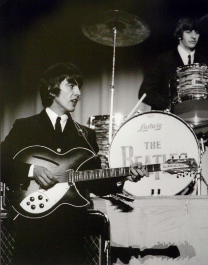 The Beatles perform at the Baltimore Civic Center in 1964. (Maryland Historical Society)