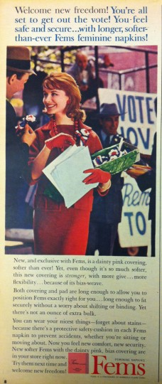 Fems. Sunday Sun Magazine. October 9, 1960. (Courtesy: The Baltimore Sun)