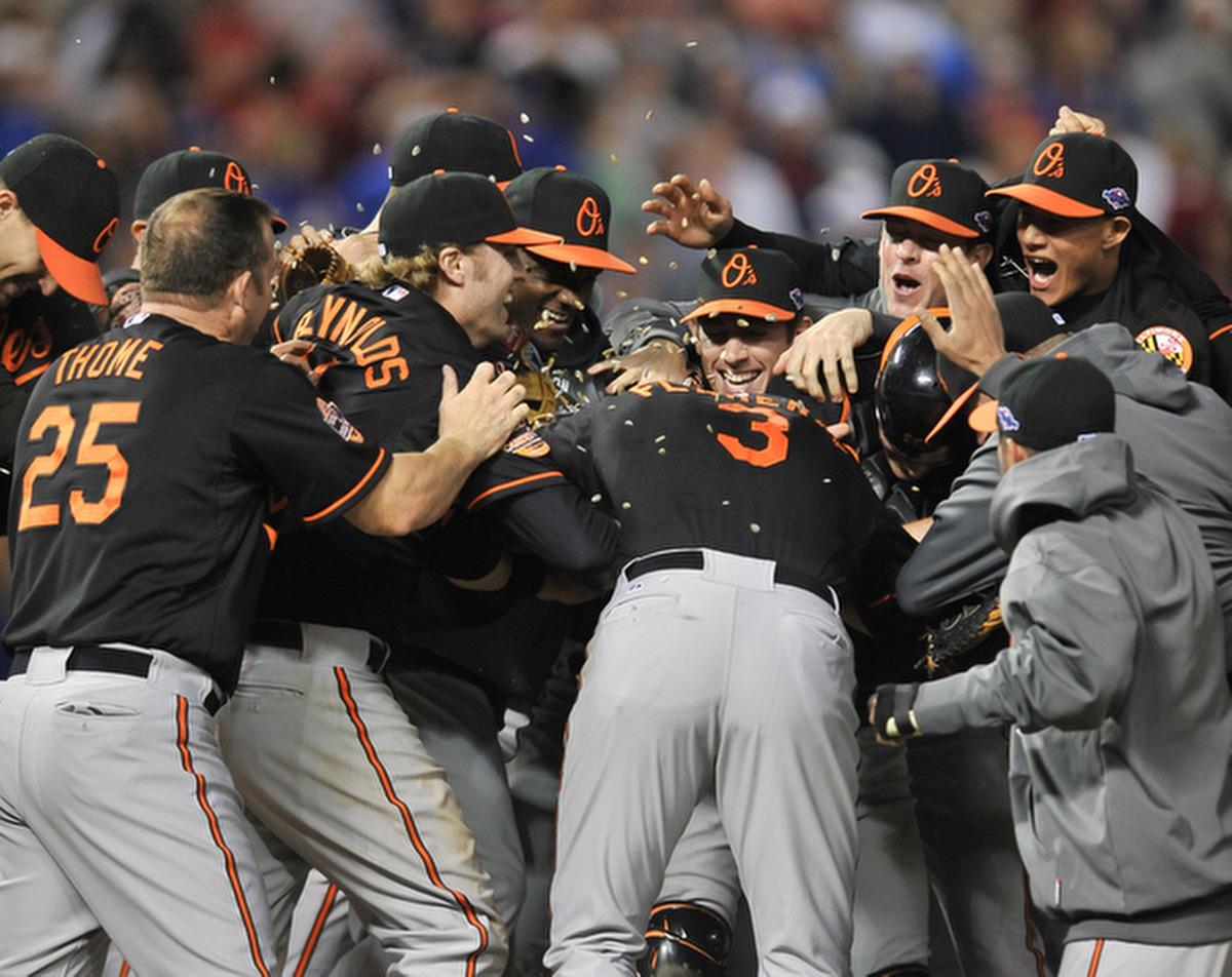 Rough Cut: A raw edit from the Baltimore Orioles and Texas Rangers wild-card playoff