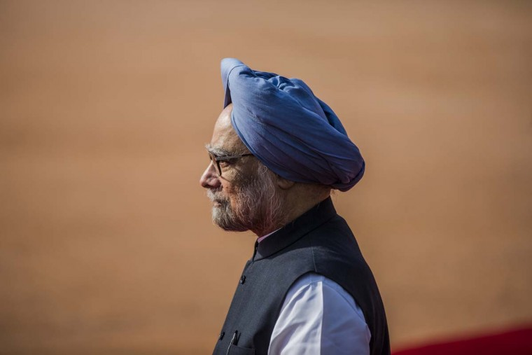 """Reuters — Indian Prime Minister Manmohan Singh said Obama now had a historic opportunity to work for global peace and progress """"at an admittedly difficult juncture."""" """"I have no doubt that there is much more we can do together to further strengthen the India-U.S. partnership,"""" Singh said in a statement. (Daniel Berehulak/Getty Images)"""