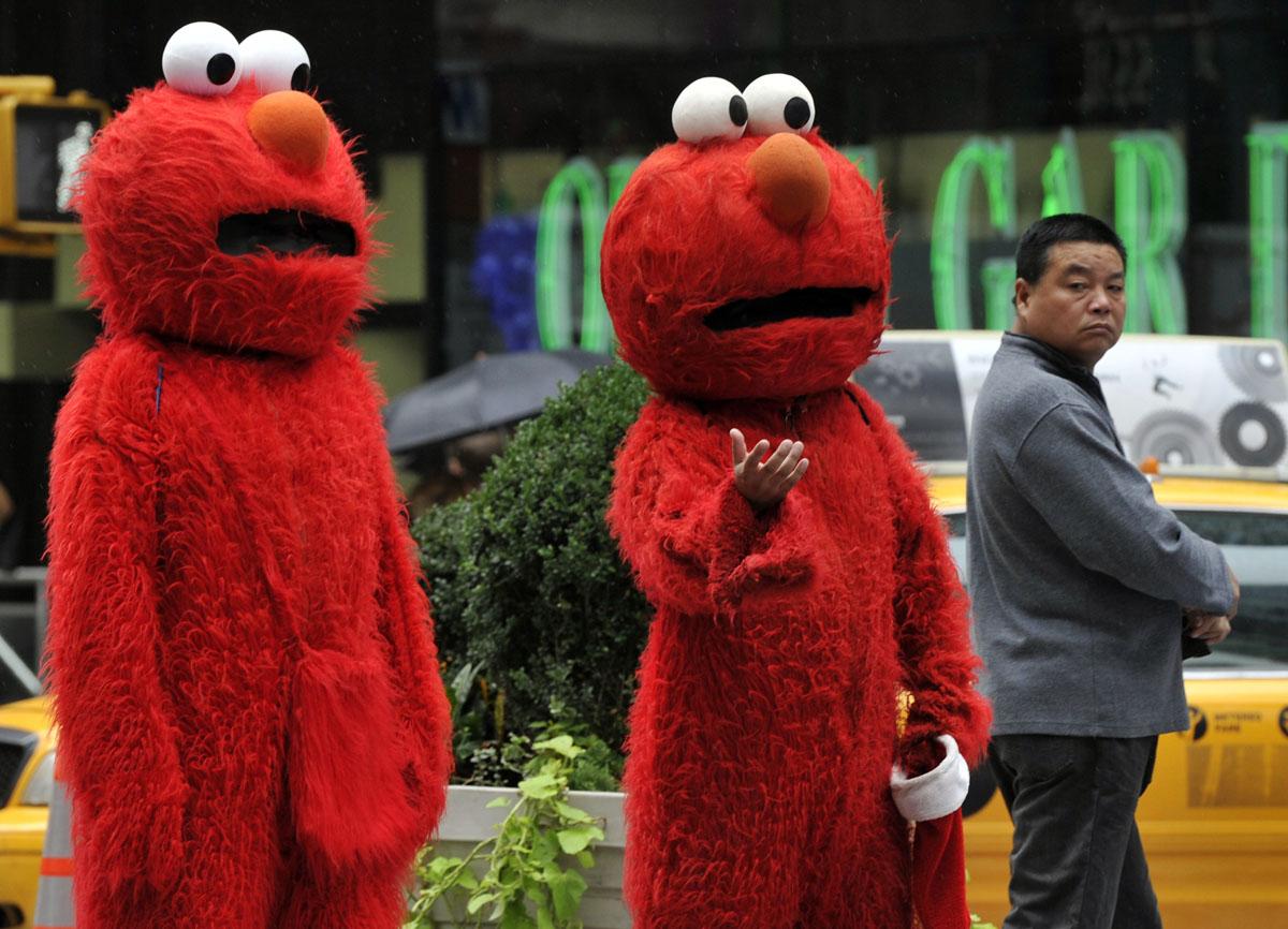 Two Elmo