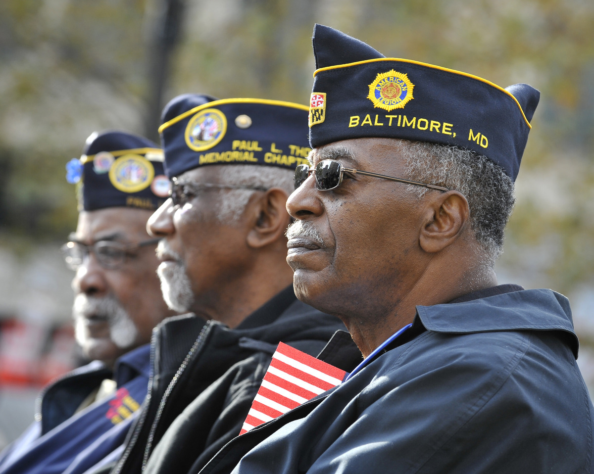 Veterans Day ceremonies honor the nation's current and former service members