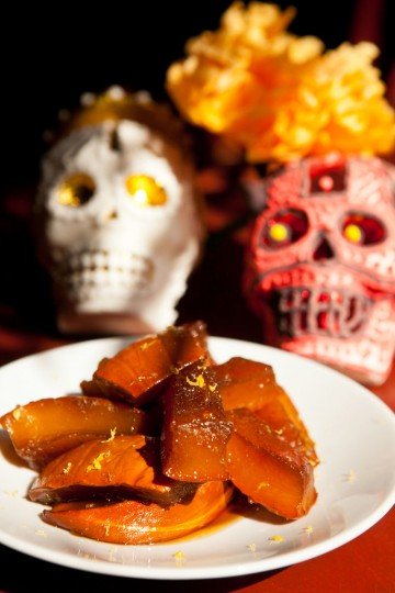 Candied Pumpkin is one of the special Day of the Dead special dishes. (Renee Brock/Atlanta Journal-Constitution/MCT)
