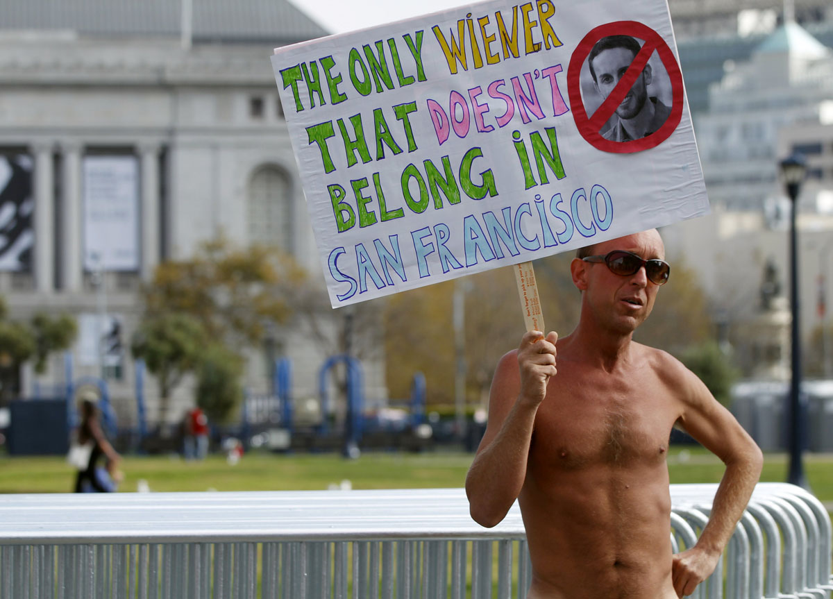 San Francisco official Wiener leads vote on public nudity ban