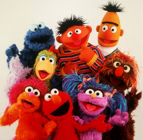 Several Sesame Street Muppets, including Cookie Monster, Bert, Ernie, Elmo, pose for a photo released in 1999. (Handout photo courtesy of CTV)