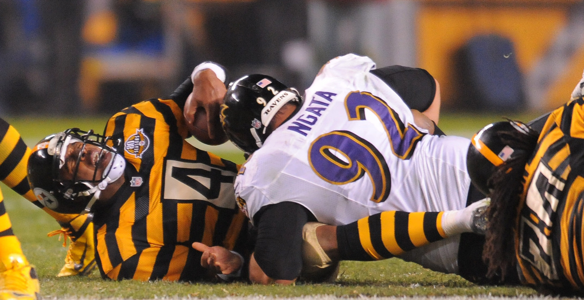 Rough Cut: A raw edit from the Ravens 13-10 win over the Pittsburgh Steelers
