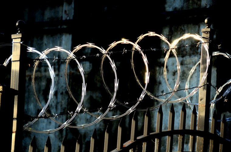 "The winner for this weeks series ""Something Shiny"" goes to William Schwartz for his picture of razor wire at Loch Raven dam taken at sunrise. The picture was shot with a Nikon D7000. ""This is a beautiful image. The photographer was smart and shot this when the light was perfect. Even though the picture has a lot going on in the frame, the composition manages to work in harmony."""