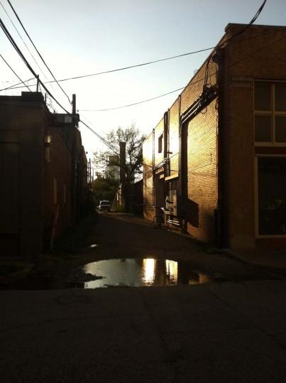 Alley Sunset: Dallas, Texas. (Courtesy of Freak Flag America)