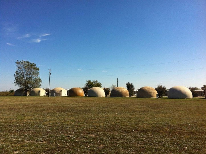 Dome Homes: Paris, Texas. (Courtesy of Freak Flag America)