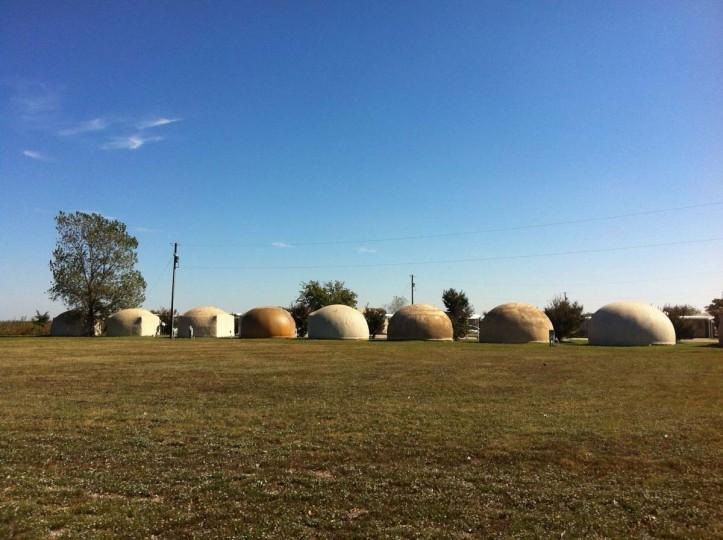 Dome Homes: Paris, Texas. (Courtesy of Freak Flag America)