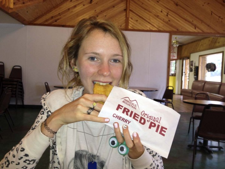 Fried Pie: Davis, Oklahoma. (Courtesy of Freak Flag America)
