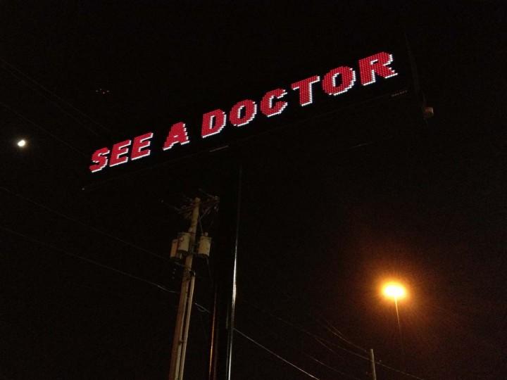 Advertisement: Lawton, Oklahoma. (Courtesy of Freak Flag America)