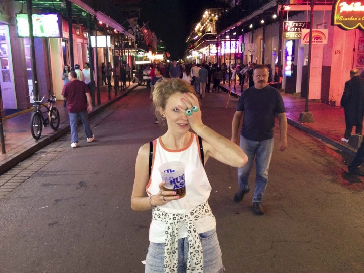 Bourbon Street: New Orleans, Louisiana. (Courtesy of Freak Flag America)