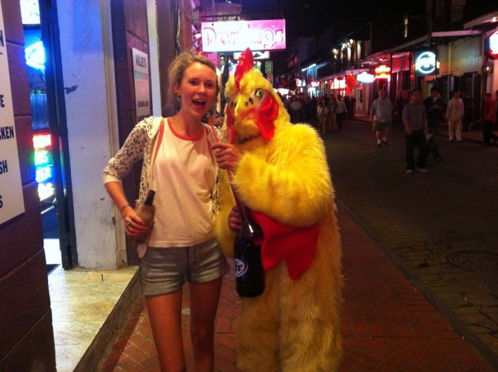 Chicken: New Orleans, Louisiana. (Courtesy of Freak Flag America)