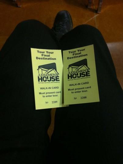 Two Tickets to Final Destination: Wichita, Kansas. (Courtesy of Freak Flag America)
