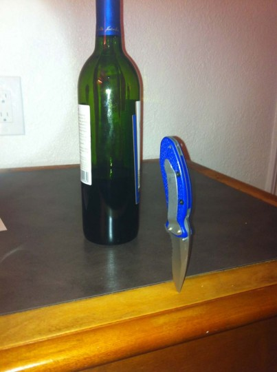 Knife: Houston, Texas. (Courtesy of Freak Flag America)