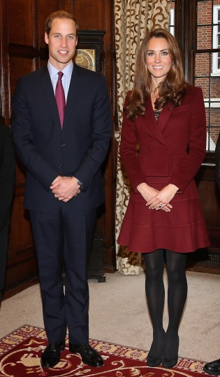 Catherine, Duchess of Cambridge and Prince William, Duke of Cambridge visit Middle Temple on October 8, 2012 in London, England. (Chris Jackson/Getty Images)