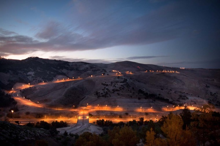 "A general view of the ""E1"" settlement area, situated between Jerusalem and the Israeli West Bank on December 9, 2012 in Maale Adumim, West Bank. (Uriel Sinai/Getty Images)"