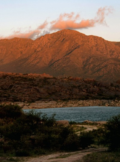 "The Uritorco hill, pictured here from near Capilla del Monte, in Cordoba, Argentina, was chosen by some as the site of a ""spiritual suicide"" on December 21, 2012, the end of the current cycle on the Mayan Long Count calendar. After an appeal on Facebook for people to climb the hill on that date and commit a mass suicide, authorities plan to shut down access to the Uritorco from December 20 to 22. (Mariela Atia/AFP/Getty Images)"