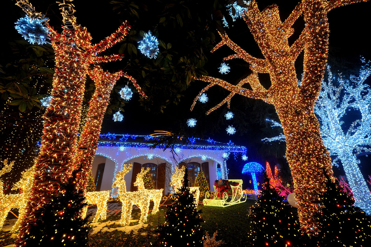 Babbo Natale Italy.Melegnano Italy Casa Di Babbo Natale