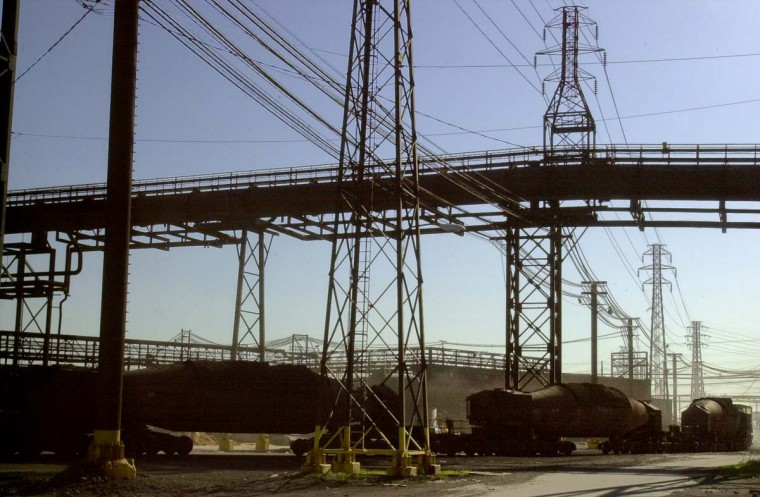 APRIL 24,2003: The rise and fall of Bethlehem Steel Corp. The company will change hands in late April/early May as part of a $1.5 billlion sale to International Steel Group Inc. (ISG) Its steel mills, including the Sparrows Pint complex in baltimore County, will continue to operate. (Algerina Perna/Baltimore Sun)