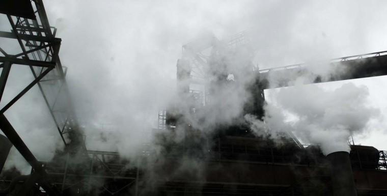 APRIL 9, 2003: Scene from the Bethlehem Steel Sparrows Point. (Algerina Perna/Baltimore Sun)