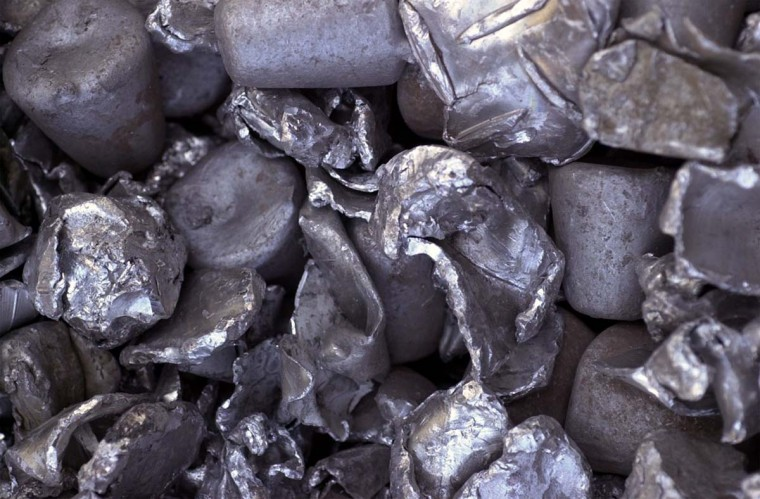 APRIL 24, 2003: This is a detail from a huge pile of raw materials that are added into the steel-making process at Bethlehem Steel. (Algerina Perna/Baltimore Sun)