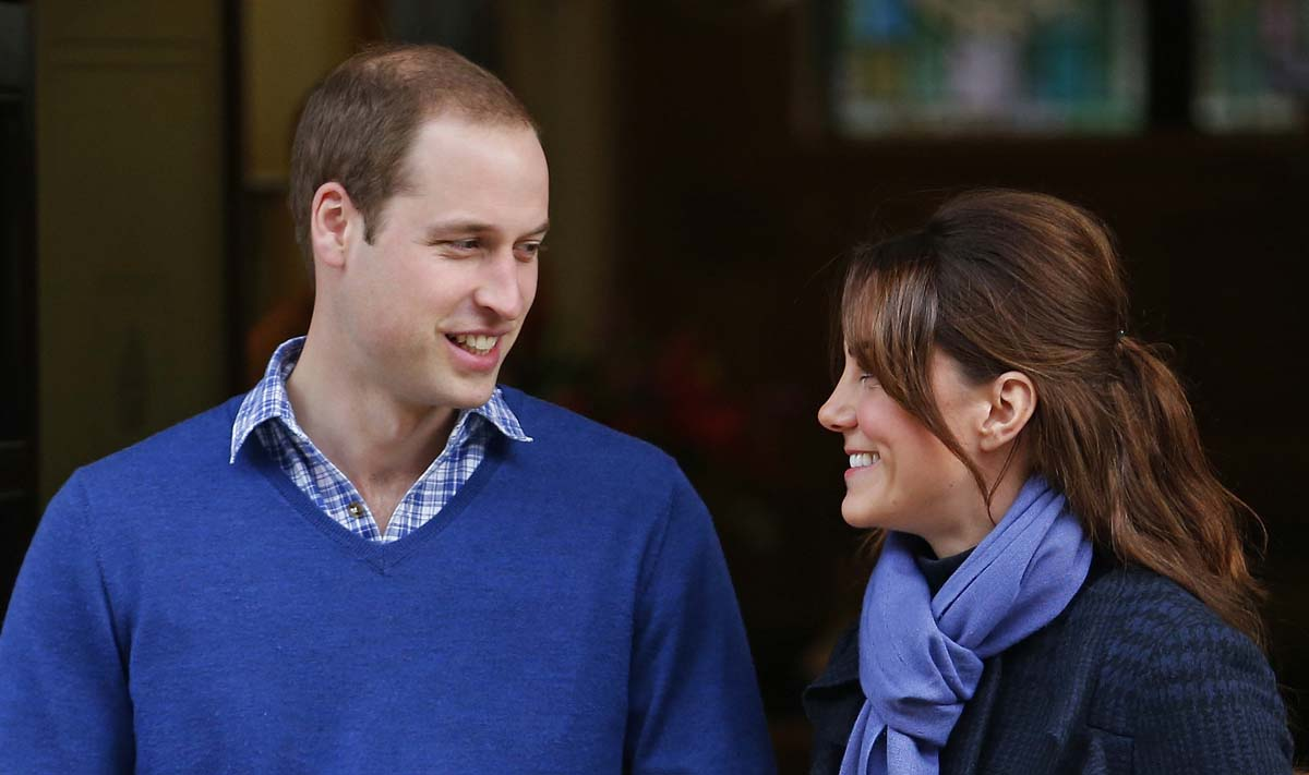 Kate and William are expecting