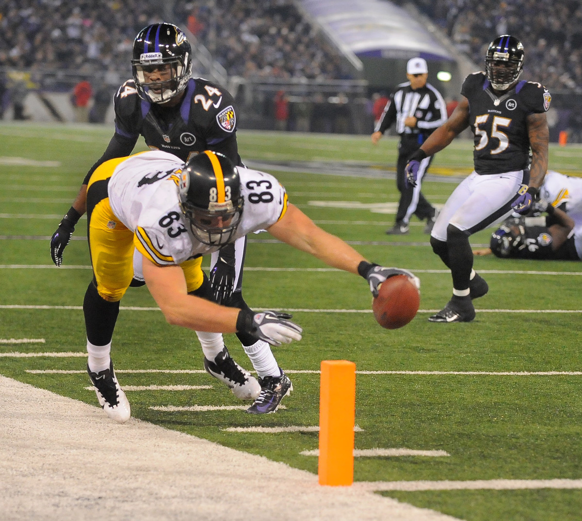 Rough Cut: A raw edit from the Ravens 23-20 loss to the Pittsburgh Steelers