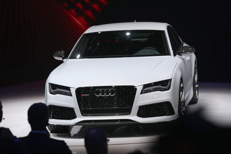 Audi introduces the RS7 at the North American International Auto Show in Detroit, Michigan. (Scott Olson/Getty Images)