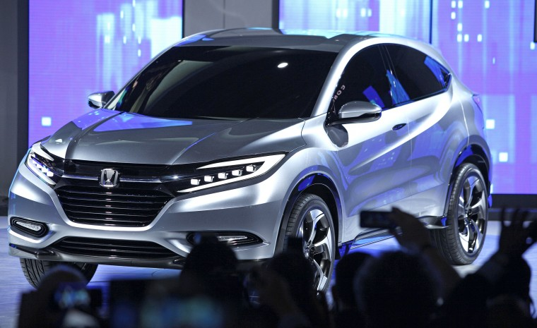 The Honda Urban SUV concept is revealed at the 2013 North American International Auto Show media preview at the Cobo Center January 14, 2013 in Detroit, Michigan. Approximately 6,000 members of the media from 68 countries are attending the show this year. The 2013 NAIAS opens to the public January 19th. (Bill Pugliano/Getty Images)