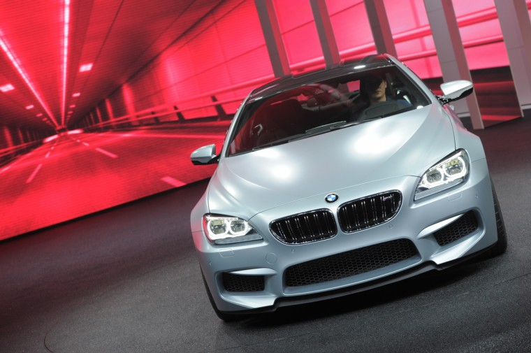 The BMW M6 Gran Coupe is introduced at the 2013 North American International Auto Show in Detroit, Michigan. (Stan Honda/Getty Images)