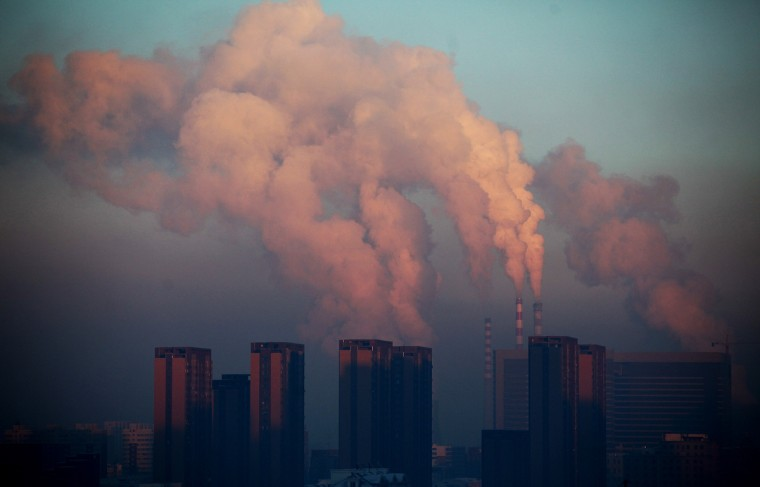 A thermal power plant discharging heavy smog into the air in Changchun, northeast China's Jilin province. China has cleaned up its air before but experts say that if it wants to avoid the kind of smog that choked the country this week, it must overhaul an economy fuelled by heavily polluting coal and car use. (Getty Images)