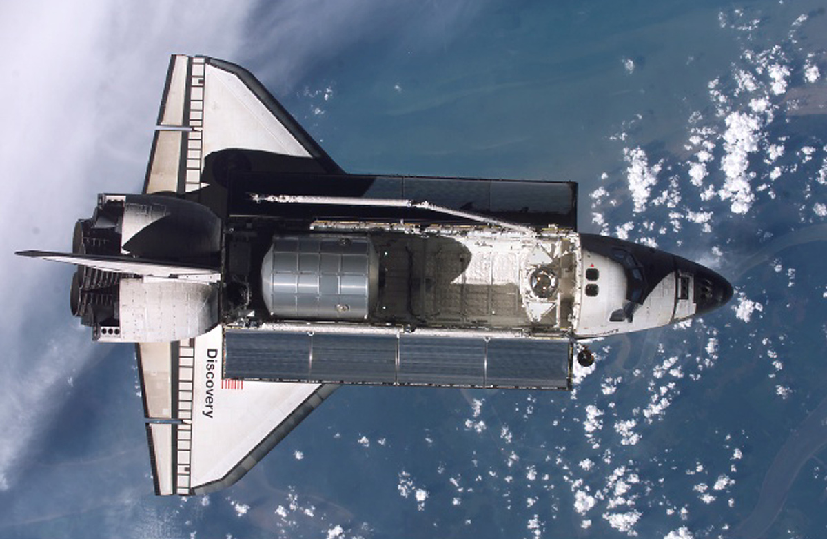 picture of the first u.s space shuttle - photo #36
