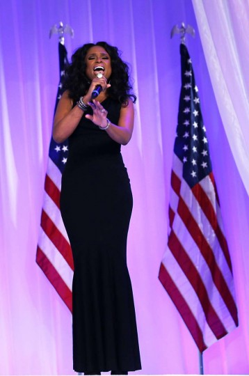 Singer Jennifer Hudson performs during the Inaugural Ball at the Walter E. Washington Convention Center on January 21, 2013 in Washington, DC. (Alex Wong/Getty Images)