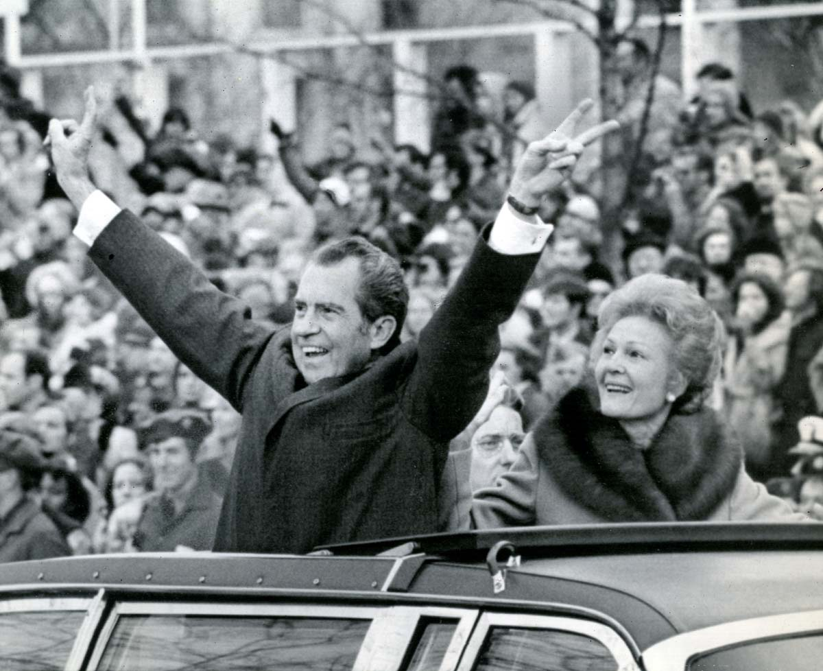 Presidential Inaugurations Of Yesteryear