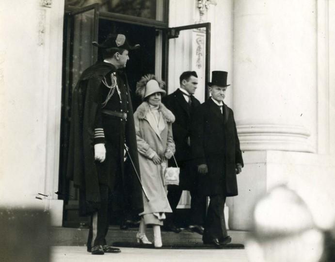 March 4, 1925 — President Calvin Coolidge's inauguration. (Baltimore Sun)
