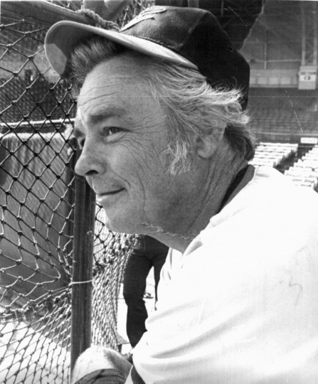 March 3, 1973: Earl Weaver watches 1st regular batting practice at spring training. (file photo)