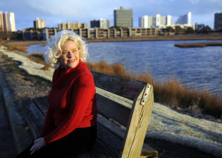 Deborah Lee Walker at home in Ocean City. (Barbara Haddock Taylor/Baltimore Sun)