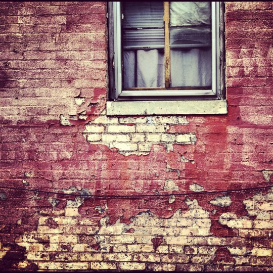 This is a shot captured of an end row home here in Baltimore. I love to capture shapes and textures and this photo seemed to almost take itself. (Credit: John David Brock)