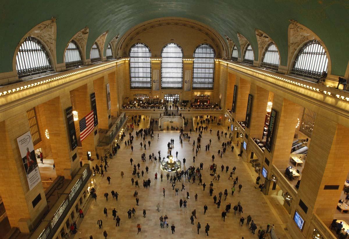 Grand Central Terminal in New York turns 100