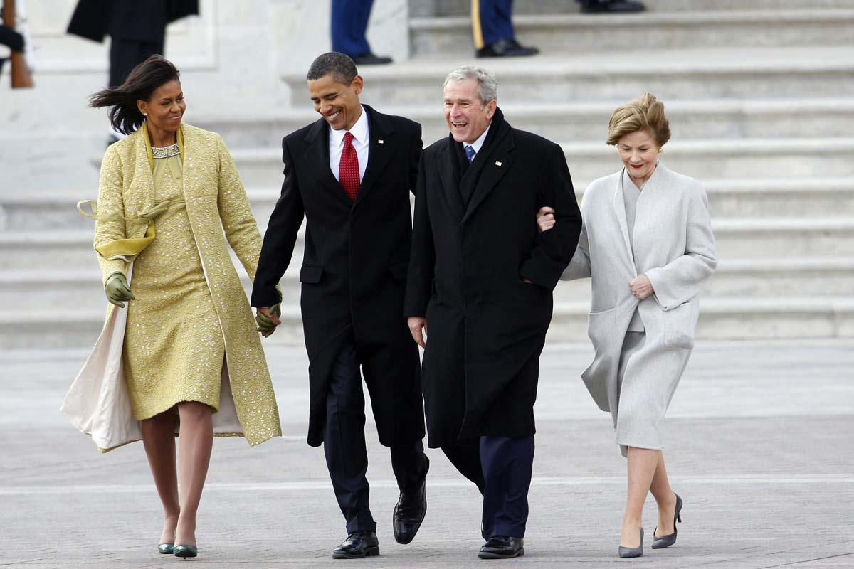 Obama for First president to be inaugurated on january 20