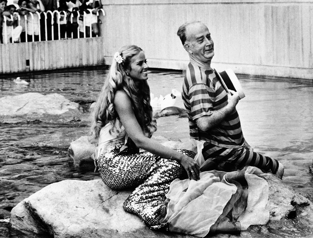 Double Exposure: Mermaid, who posed with Mayor Schaefer for iconic 1981 photo, shares her tale three decades later