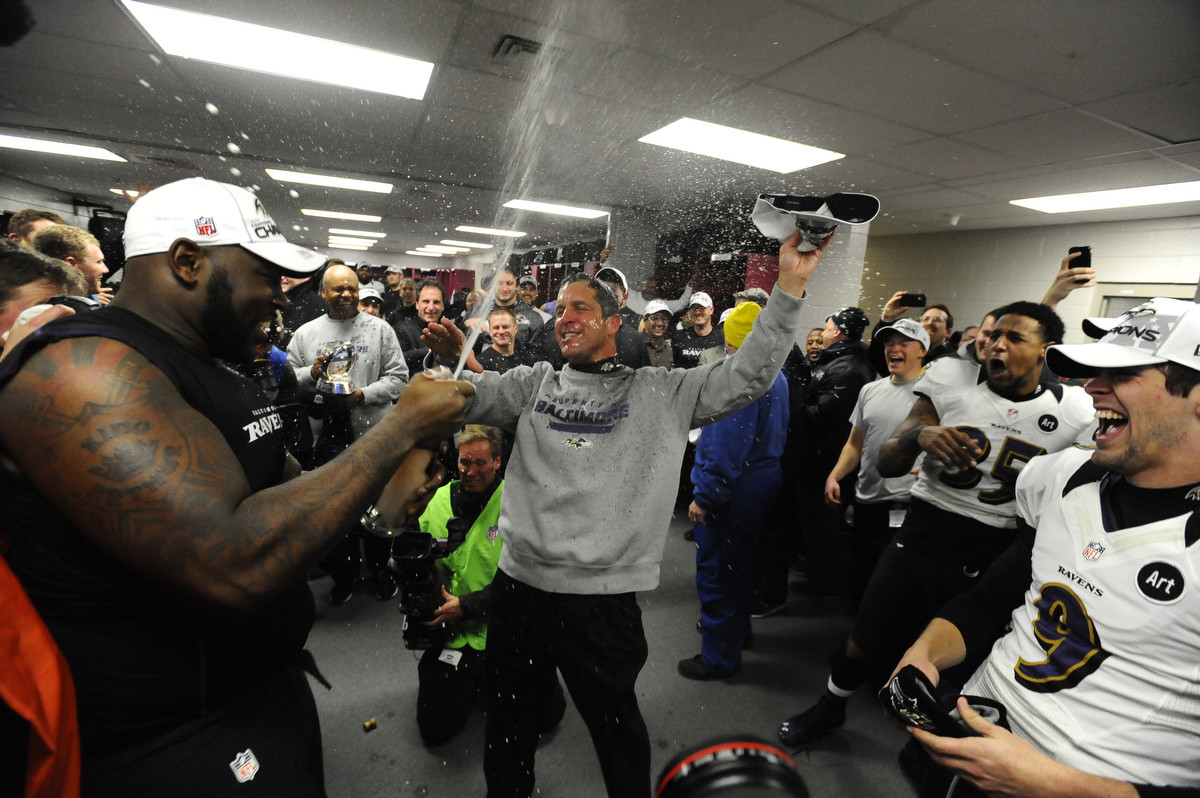 Patriots Locker Room Celebration Super Bowl