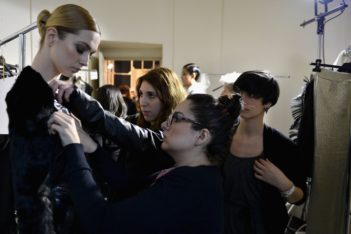 Behind the scene look at Milan and Paris fashion